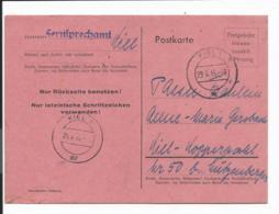 Brit.  Zone P 719c I - 6 Rpf Freigebühr Voraus Bezahlt - Ganzsache, Kiel Als Ortskarte Bedarfsverwendet - Allemagne