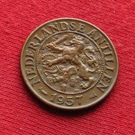 Netherlands Antilles 1 Cent 1957 KM# 1 Antillen Antilhas Antille Antillas - Antille Olandesi
