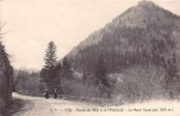 01 - Route De GEX à La FAUCILLE - Le Mont Turet (alt. 1371 M.) - Gex