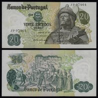 Portugal - 20 Escudos Banknote 1971 - Pick 173  UNC (1)   (21824 - Portogallo