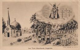 49 Les Trois Marchands Angevins (2 Scans) - Francia
