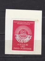FRANCE Vignette Philexfrance 82 N° 23A** - Commemorative Labels