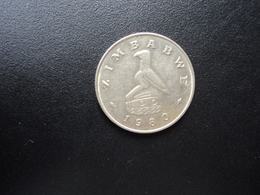 ZIMBABWE * : 20 CENTS   1980    KM 4     SUP - Zimbabwe