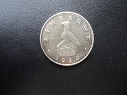 ZIMBABWE * : 50 CENTS   1990    KM 5     SUP+ / SPL - Zimbabwe