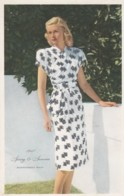 Woman Fashion Spring & Summer 1947 Montgomery Wards Catalog Advertisement Notice, C1940s Vintage Postcard - Fashion