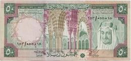 SAUDI ARABIA P. 19 50 R 1976 VF - Arabie Saoudite