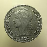Portuguese Angola 50 Centavos 1922 - Portugal