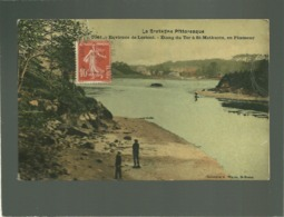 56 étang Du Ter à St Mathurin En Ploemeur édit. Waron N° 7061 Couleur Vernie , Environs De Lorient - Plömeur