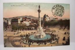 MARSEILLE    -  La Place Castellane -Fontaine Cantini - Marseilles