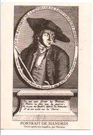 PORTRAIT DE MANDRIN - Historical Famous People