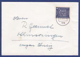 Brief Einzelfrankatur MiNr. 398 (aa0018) - Storia Postale