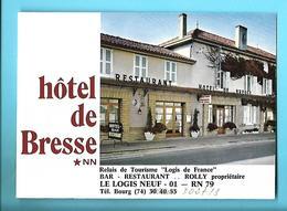 01----LE LOGIS NEUF--Hôtel De Bresse---dépliant 3 Volets--voir 4 Scans - Other Collections