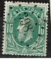 30  Obl  LP 398   Wespelaer  + 15 - 1869-1883 Léopold II
