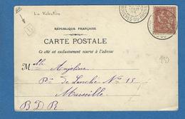 BOUCHES DU RHONE BOITE URBAINE B    ST MARCEL LA VALENTINE - Marcofilie (Brieven)