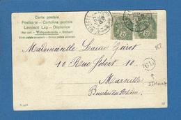 BOUCHES DU RHONE ORIGNIE LOCALE  ST MARCEL ST MENET - Marcofilie (Brieven)