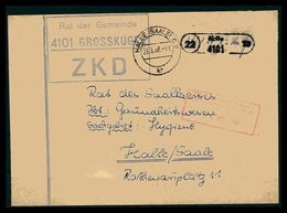 DDR ZKD Dienstbrief 1966 Siehe Beschreibung (205899) - [6] Repubblica Democratica