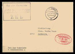 DDR ZKD Dienstbrief 1967 Siehe Beschreibung (205901) - [6] Repubblica Democratica