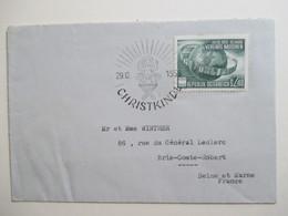 AUTRICHE - Marcophilie -  Cachet CHRISTKINDL  29.12.1955 - TBE - Affrancature Meccaniche Rosse (EMA)