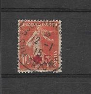 FRANCE 1914 YT 146 OBLITERE /au Profit De La CROIX ROUGE // 1er Timbre Français Avec Surtaxe - Usados