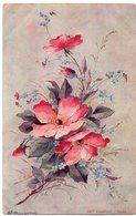 FÊTES VŒUX 347 : Précurseur : Signé H L ; Alterocca Terni 087 : Edit. P F Flora N° 7301 - Auguri - Feste