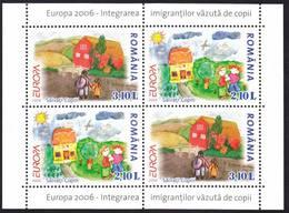 ROMANIA  2006  EUROPA  CEPT   S/S- Block II  MNH** - 2006