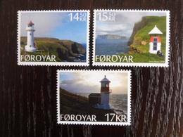 Phares - Lighthouses - Faros - FEROE FOROYAR FAROE 2014 MNH ** - Vuurtorens