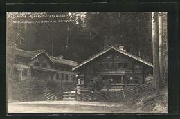 AK Dittersbach / Jetrichovice, An Der Balzhütte In De Böhmischen Schweiz - Tschechische Republik