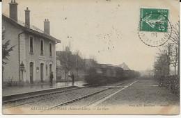 37-40273  -  NEUILLE- LE - LIERRE     -  La Gare 1908 - France