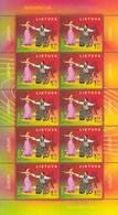 LITHUANIA -LITAUEN-LITUANIE  2006  EUROPA CEPT   2 Sheets  (Klb )   MNH ** - 2006