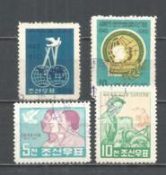 Korea 1960 Used Stamps - Korea, North