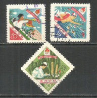 Korea 1961 Used Stamps  Set - Korea, North