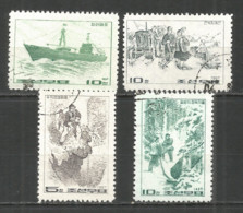 Korea 1967 Used Stamps - Korea, North