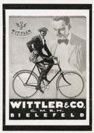 Original-Werbung/ Anzeige 1927 -  WITTLER FAHRRÄDER - BIELEFELD - Ca. 65 X 100 Mm - Werbung