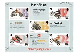 Ile De Man - Isle Of Man - Bloc Neuf  N° 19 Y&T Année 1993 Course De Moto - Isola Di Man