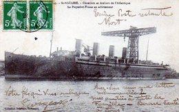 44 - SAINT-NAZAIRE - Le Paquebot FRANCE - Chantiers De L'atlantique - Saint Nazaire