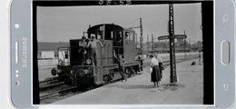 CHAGNY NEGATIF  GARE LOCOTRACTEUR - Trains