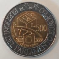 Italia  500 Lire 1999  KM 203 - 1946-… : Republic