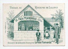 - CHROMO LA PÂTE FLAMANDE, Asnières - Voyage Au Royaume De Lilliput - - Altri