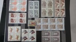 C60  Collection De Timbres ** D'Espagne Par Blocs De 4 En Majorité. Idéal Pour La Faciale !!! - Francobolli