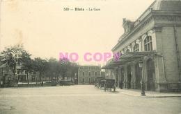 SL 41 BLOIS. La Gare Avec Fiacres Taxis - Blois