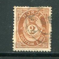 NORVEGE- Y&T N°36- Oblitéré - Used Stamps