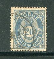 NORVEGE- Y&T N°43- Oblitéré - Used Stamps