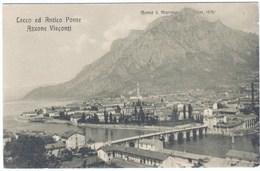 Cartolina Lecco 1920/30 Antico Ponte - Lecco