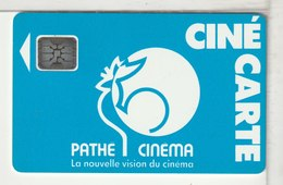 CINECARTE - CARTE CINEMA - CINE CARTE - Verso Sticker Chalon - France