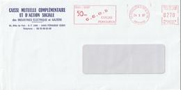 """EMA NL 17888 Sur Env. : """"50 Ans CCOS, CMCAS"""" (Périgueux Centre De Tri, 24-Dordogne) Du 24-09-1997 (§) - Storia Postale"""