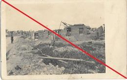 Vis En Artois Carte Allemande Mai 1918 - France
