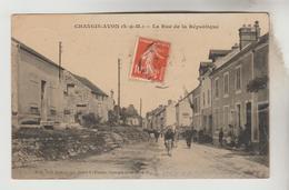 CPA AVON (Seine Et Marne) - CHANGIS : La Rue De Ka République - Avon