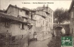Cp Saverdun Sur Ariège, Vieilles Maisons Sur L'Ensonne - Other Municipalities