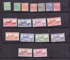 TUNISIE 206/222 NEUF SANS CHARNIERE - Tunisia (1888-1955)