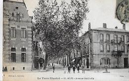 Albi. L'Avenue Gambetta. - Albi